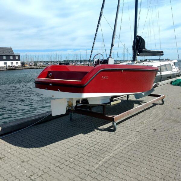 "18"" motor boat 20 kW direct drive no gear 48VDC"