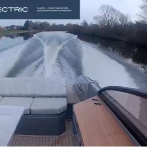 Power boat rear